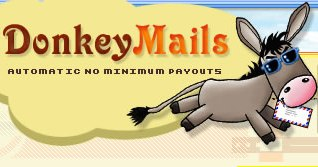 How to make money online and how to get free referrals with DonkeyMails