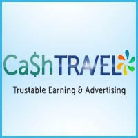 How to make money online and how to get free referrals with Cashtravel
