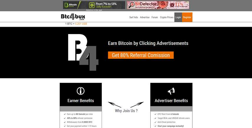 Making money with Btc4bux: full review  What is Btc4bux? How does it
