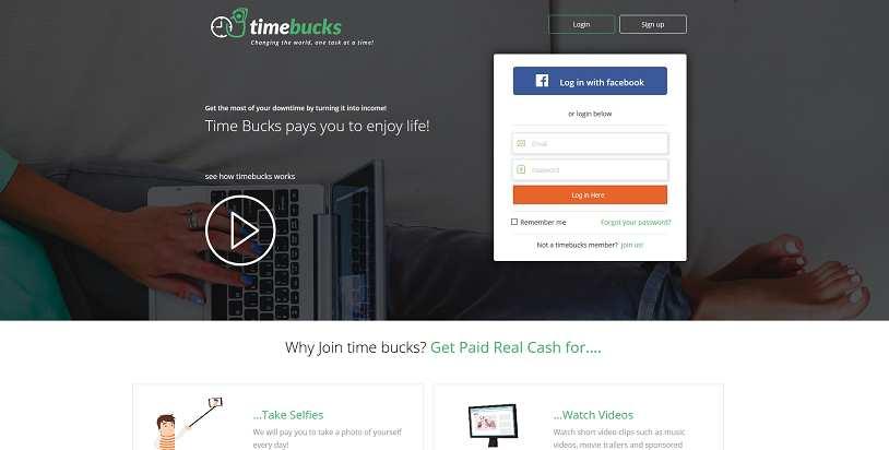 Making money with TimeBucks: full review  What is TimeBucks? How