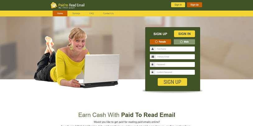 Making money with Paid To Read Email: full review  What is