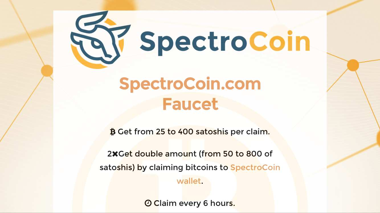 How to make money with Faucet spectrocoin: complete review