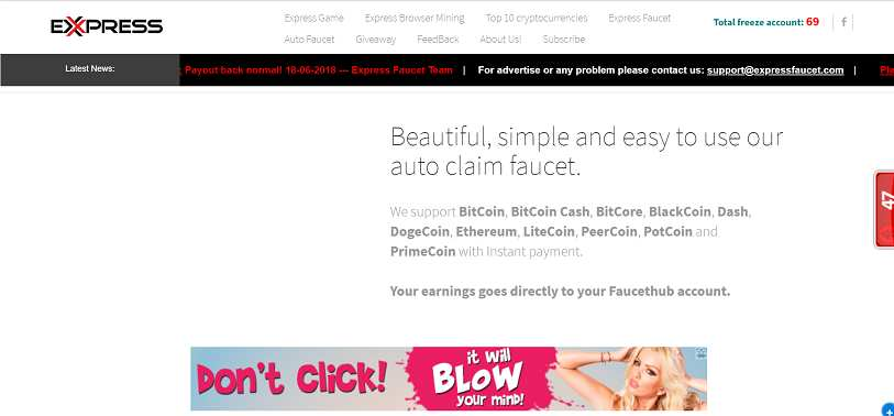 Making money with Express Faucet: full review  What is