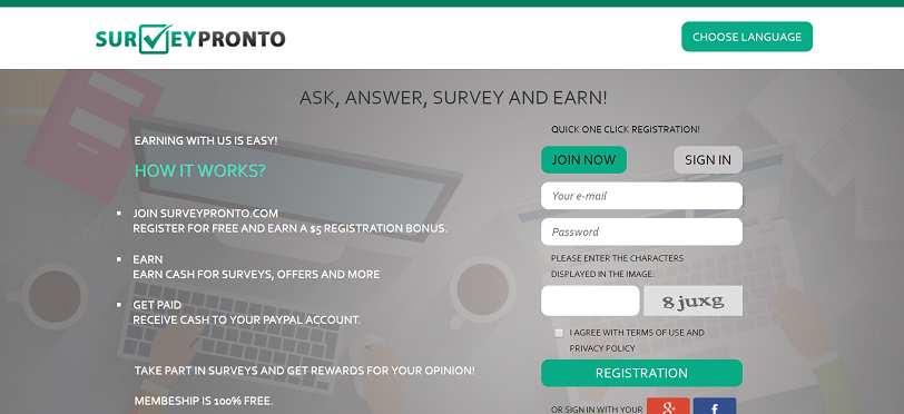 Como ganhar dinheiro online e como obter referências gratuitas com o SurveyPronto